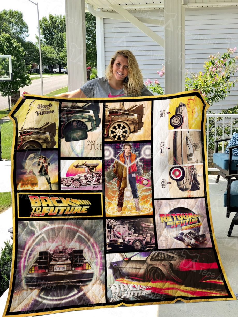 Back To The Future Quilt Blanket 01562