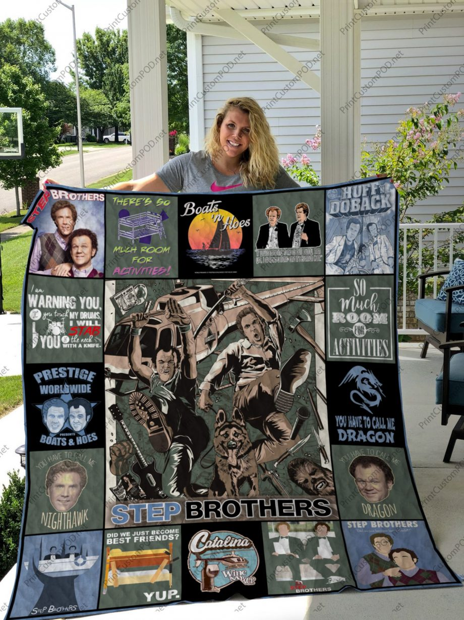H KP8211 Step Brothers Quilt Blanket
