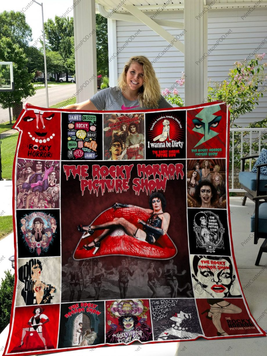 H KP8211 The Rocky Horror Picture Show Quilt Blanket
