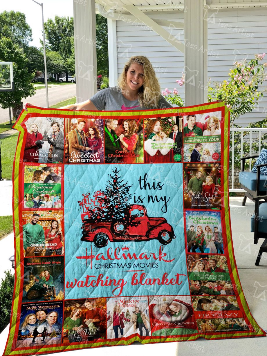 Christmas movies Quilt Blanket 01879