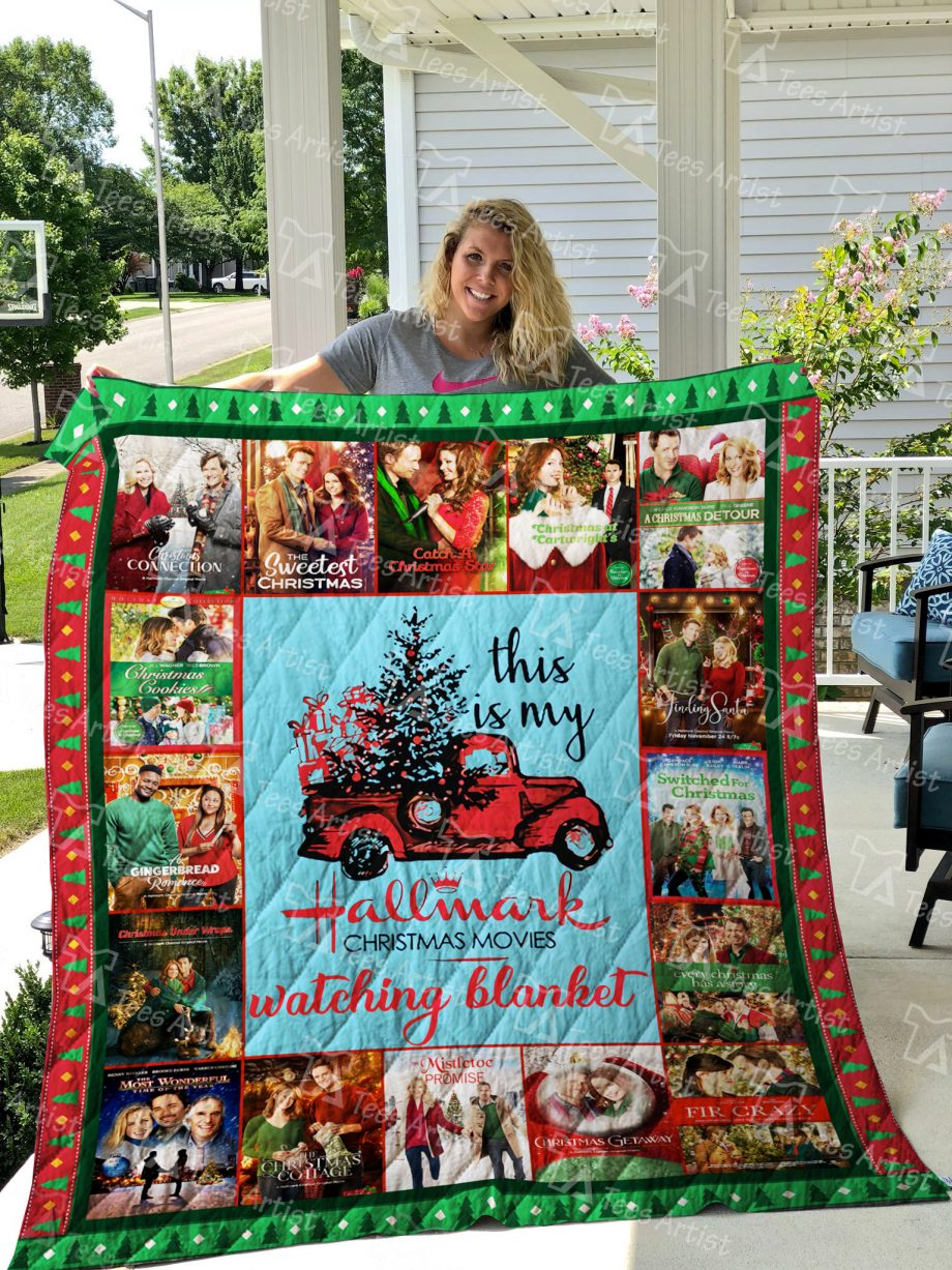 Christmas movies Quilt Blanket 01880