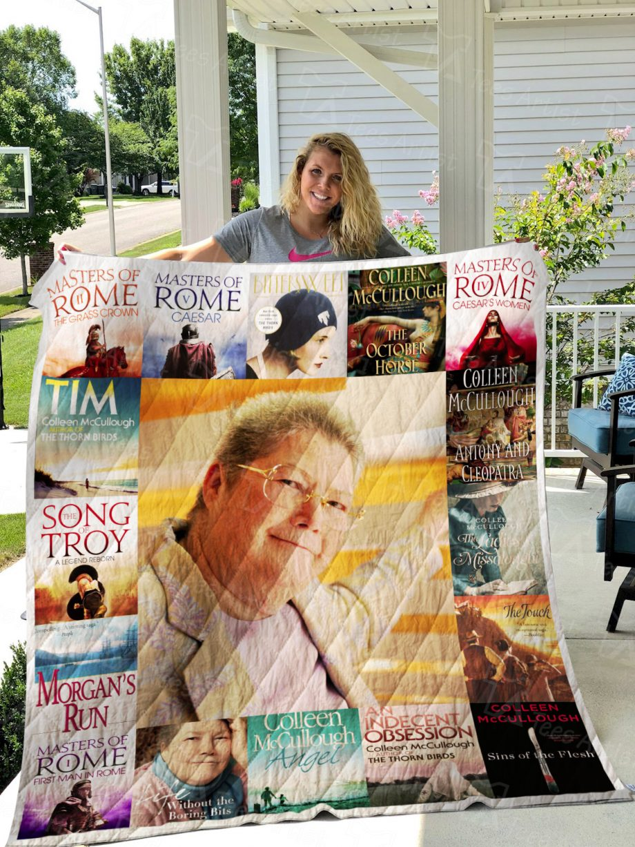 Colleen McCullough Quilt Blanket 01045