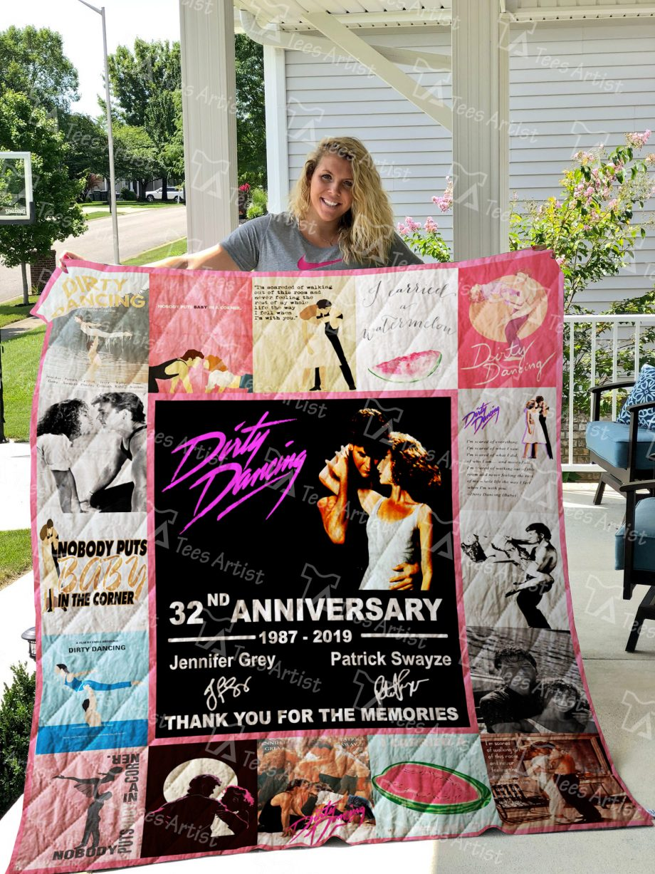 Dirty Dancing Quilt Blanket 01561