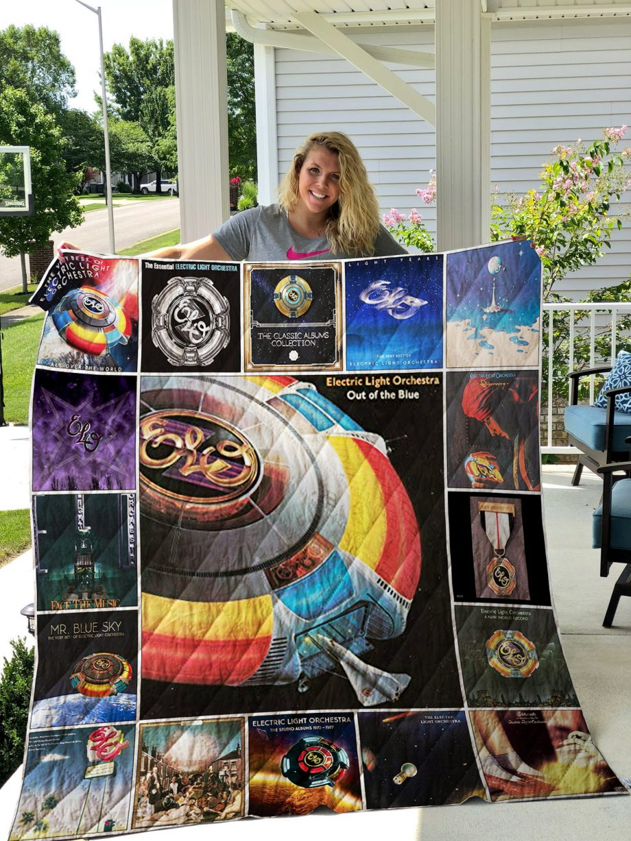 Electric Light Orchestra Quilt Blanket 01215