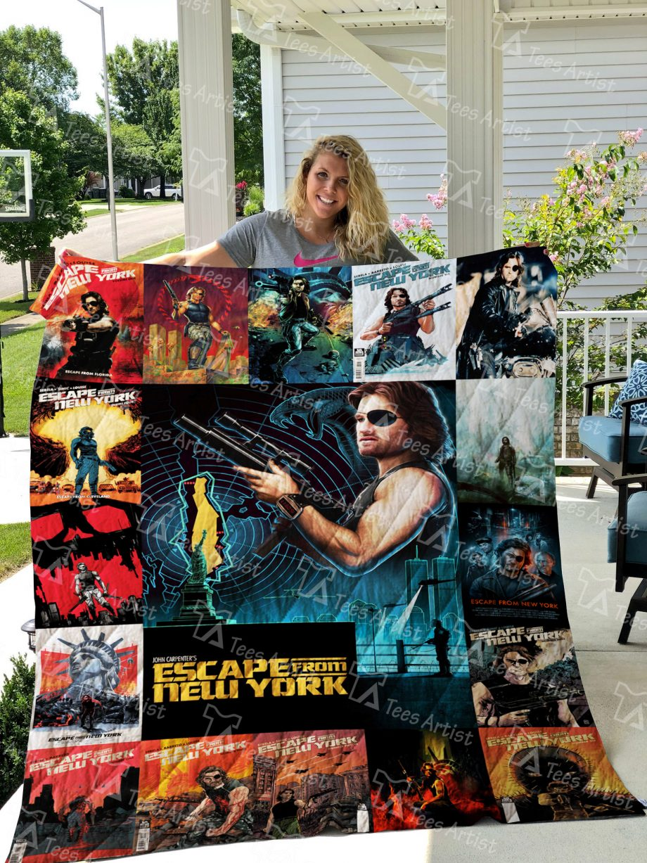 Escape from New York Quilt Blanket 0912