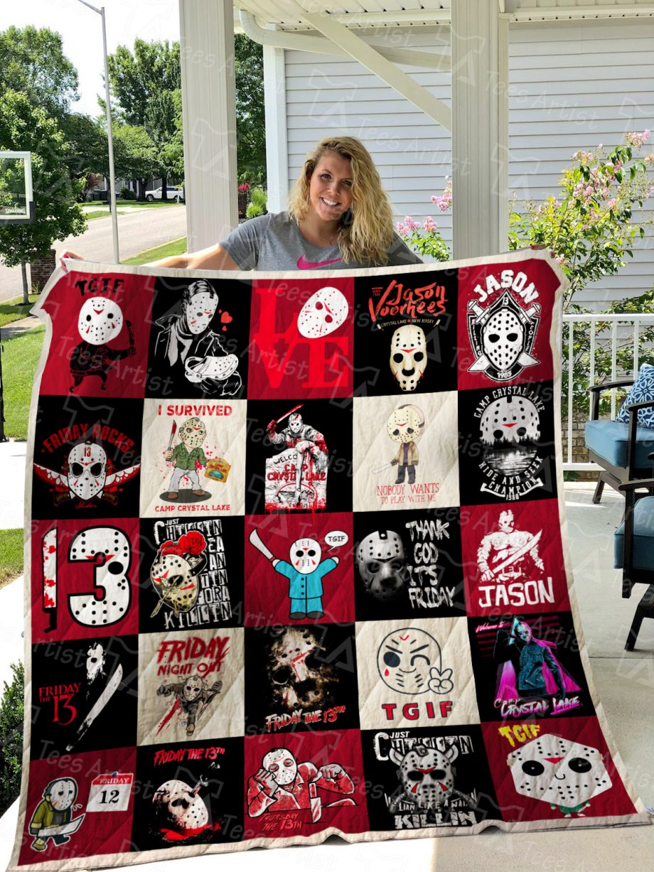 Friday the 13 Quilt Blanket 01125