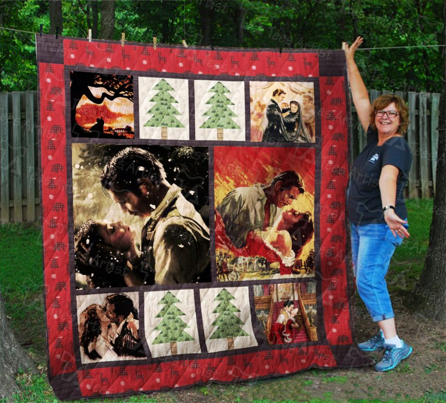 Gone With The Wind Quilt Blanket 01897