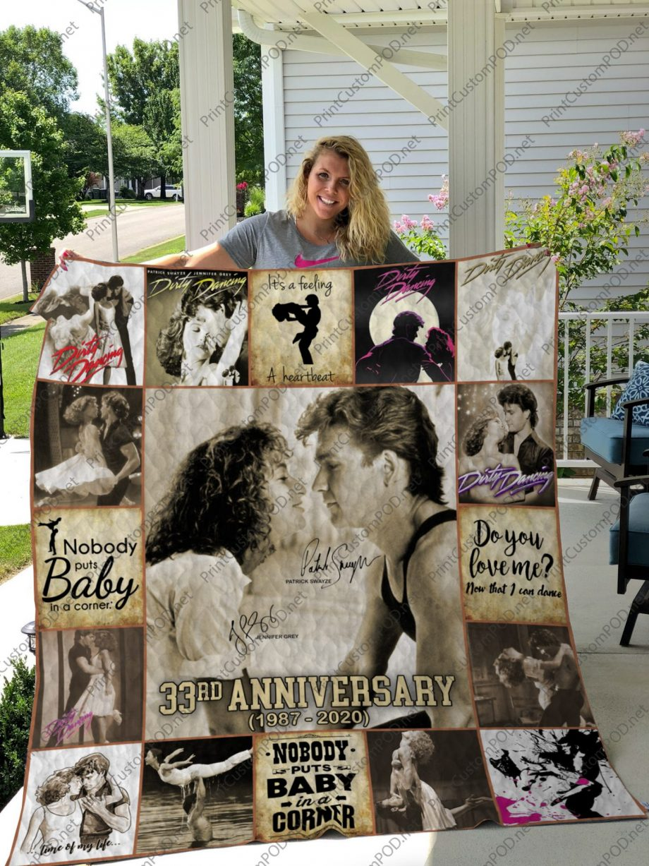 H  KP8211 DIRTY DANCING 1  Quilt Blanket For Fan