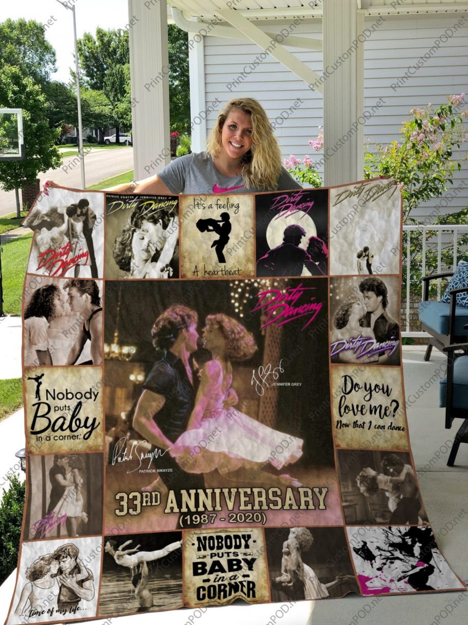 H  KP8211 DIRTY DANCING 2  Quilt Blanket For Fan