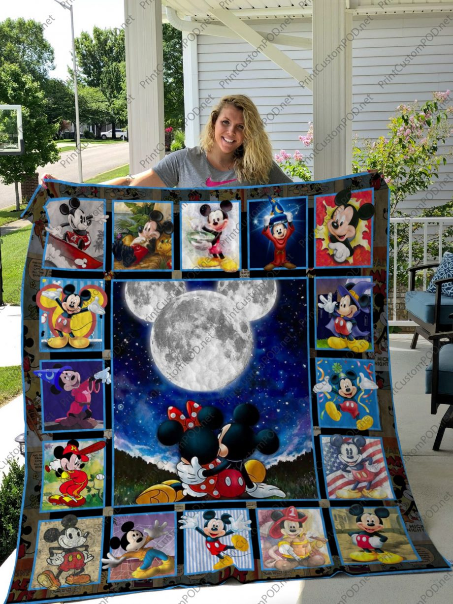 H KP8211 Mickey Mouse Quilt Blanket ver 17