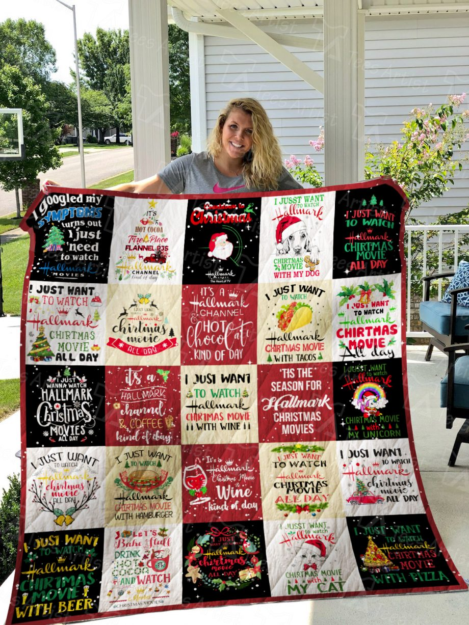 Hallmark movie Quilt Blanket 01151