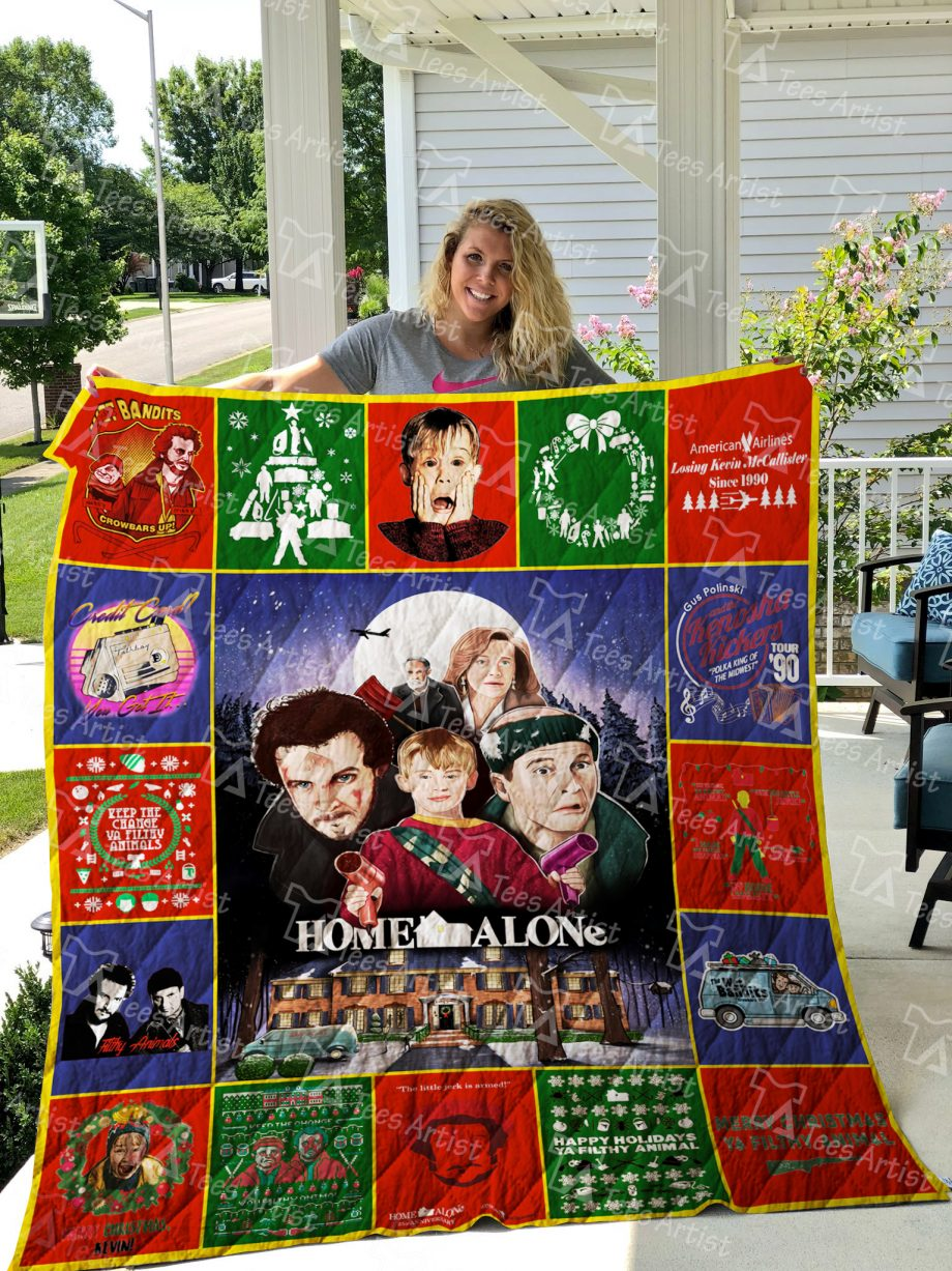 Home Alone Quilt Blanket 01892