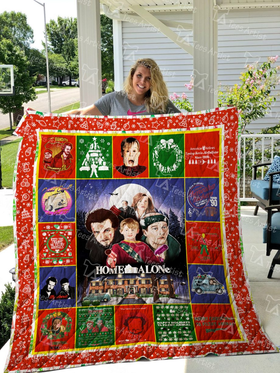 Home Alone Quilt Blanket 01893
