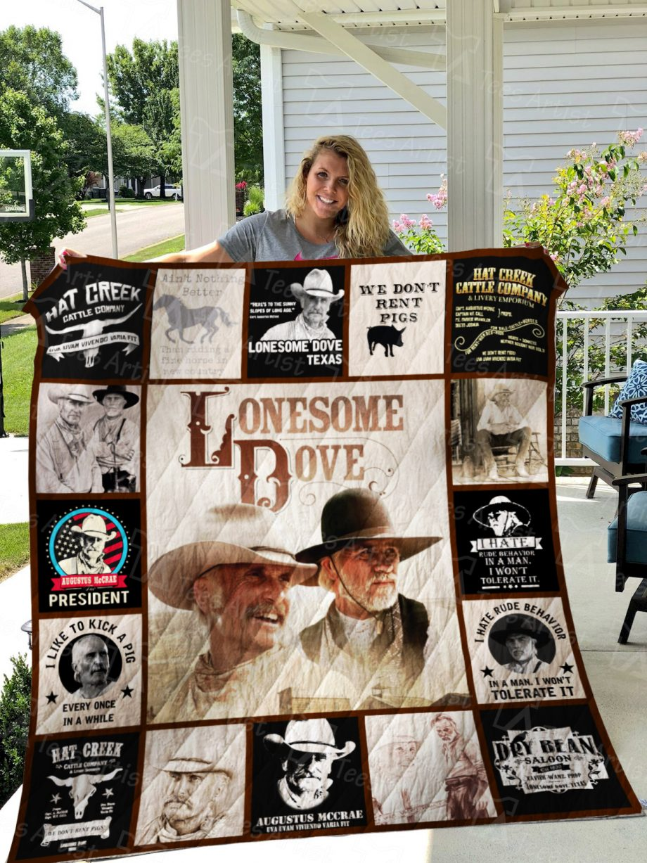 Lonesome Dove Quilt Blanket 01338