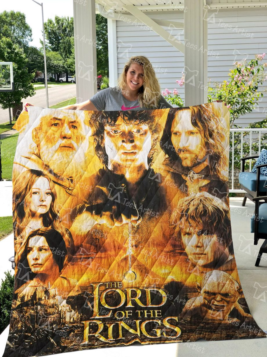 Lord of the Rings Quilt Blanket 01470