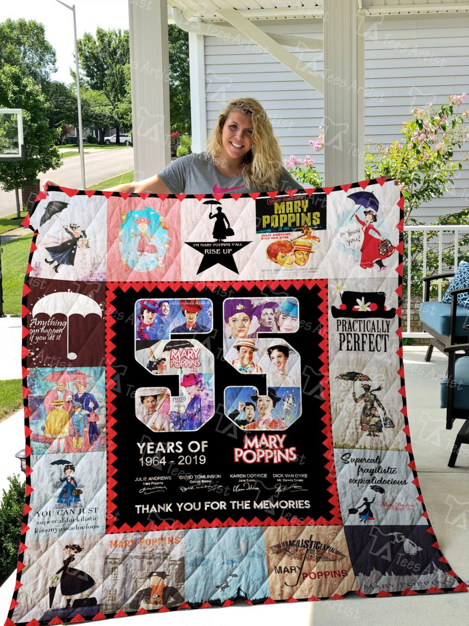 Mary Poppins Quilt Blanket 01491