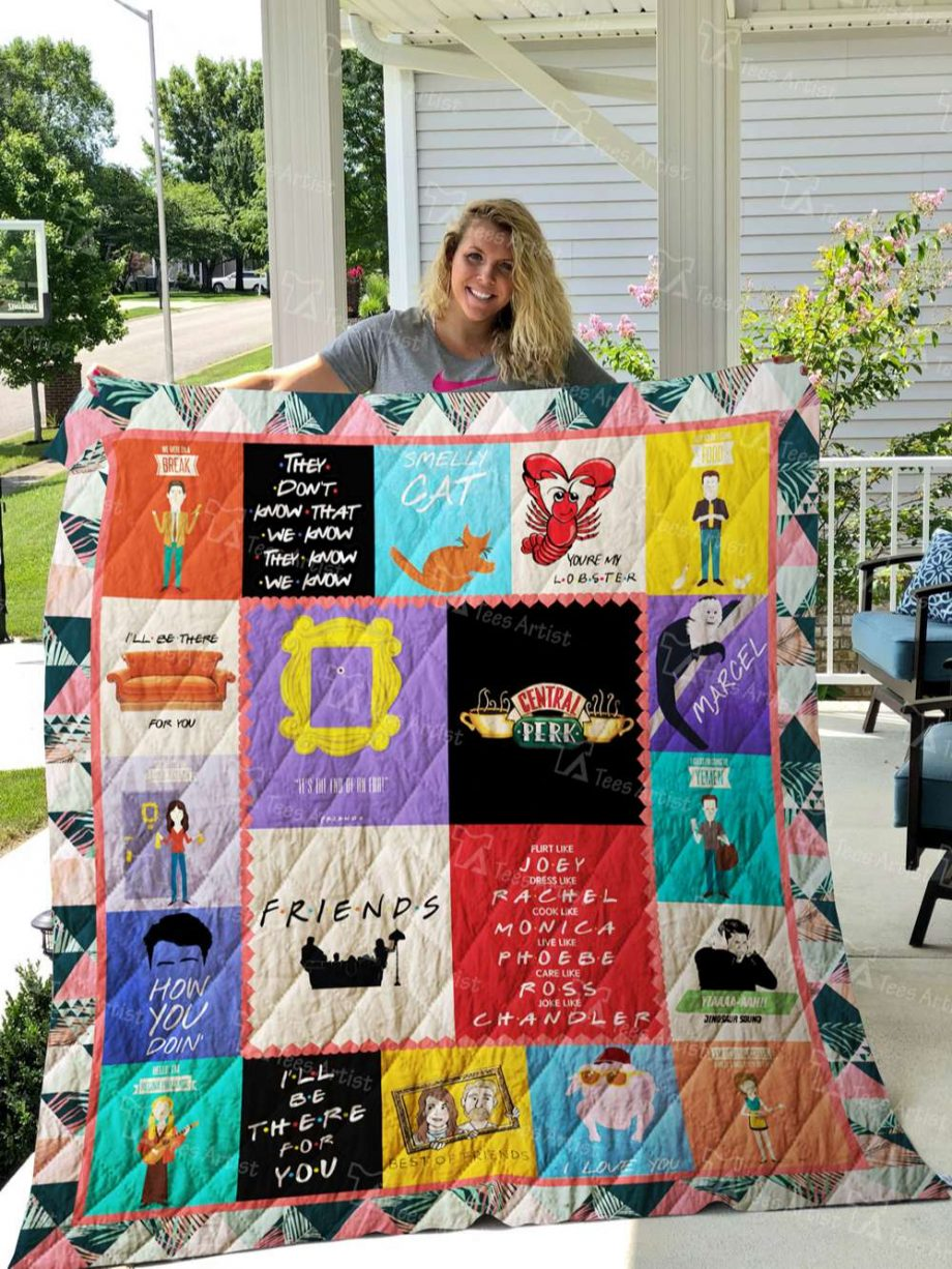 Friends Quilt Blanket 02742