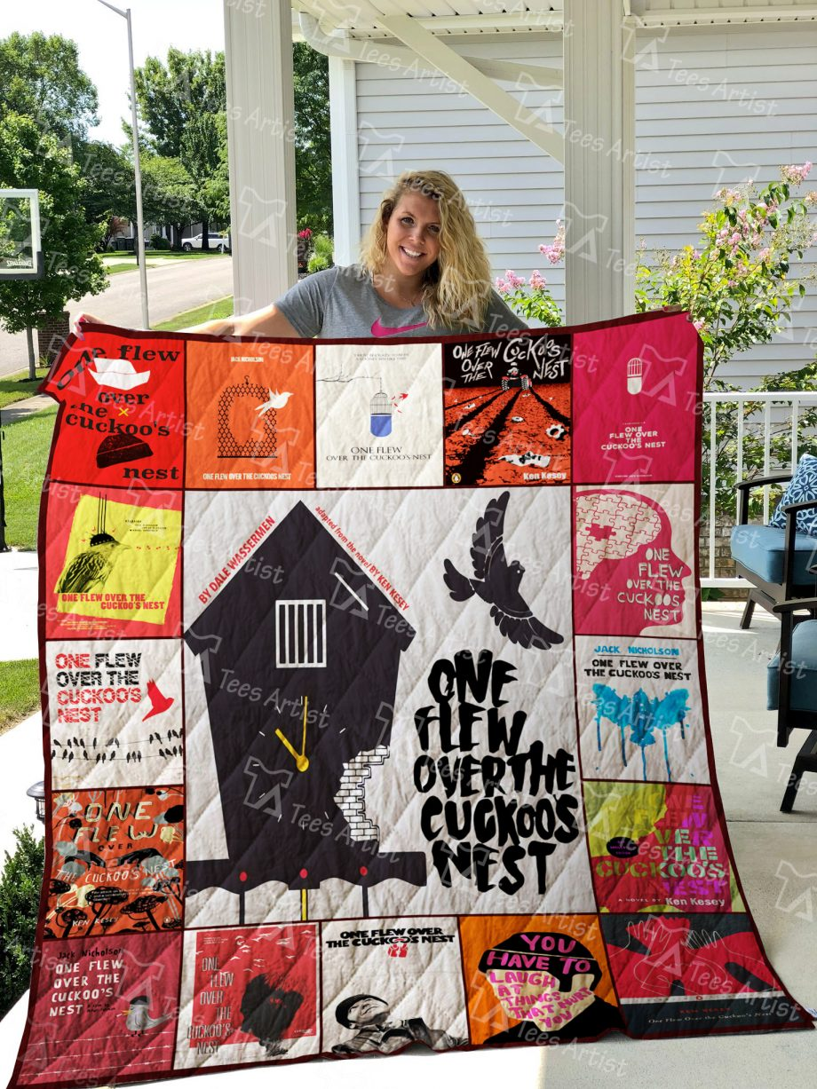 One Flew Over the Cuckoo's Nest Quilt Blanket 01902
