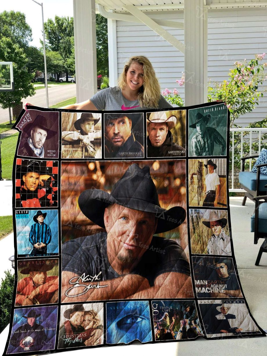 Garth Brooks Quilt Blanket 02552