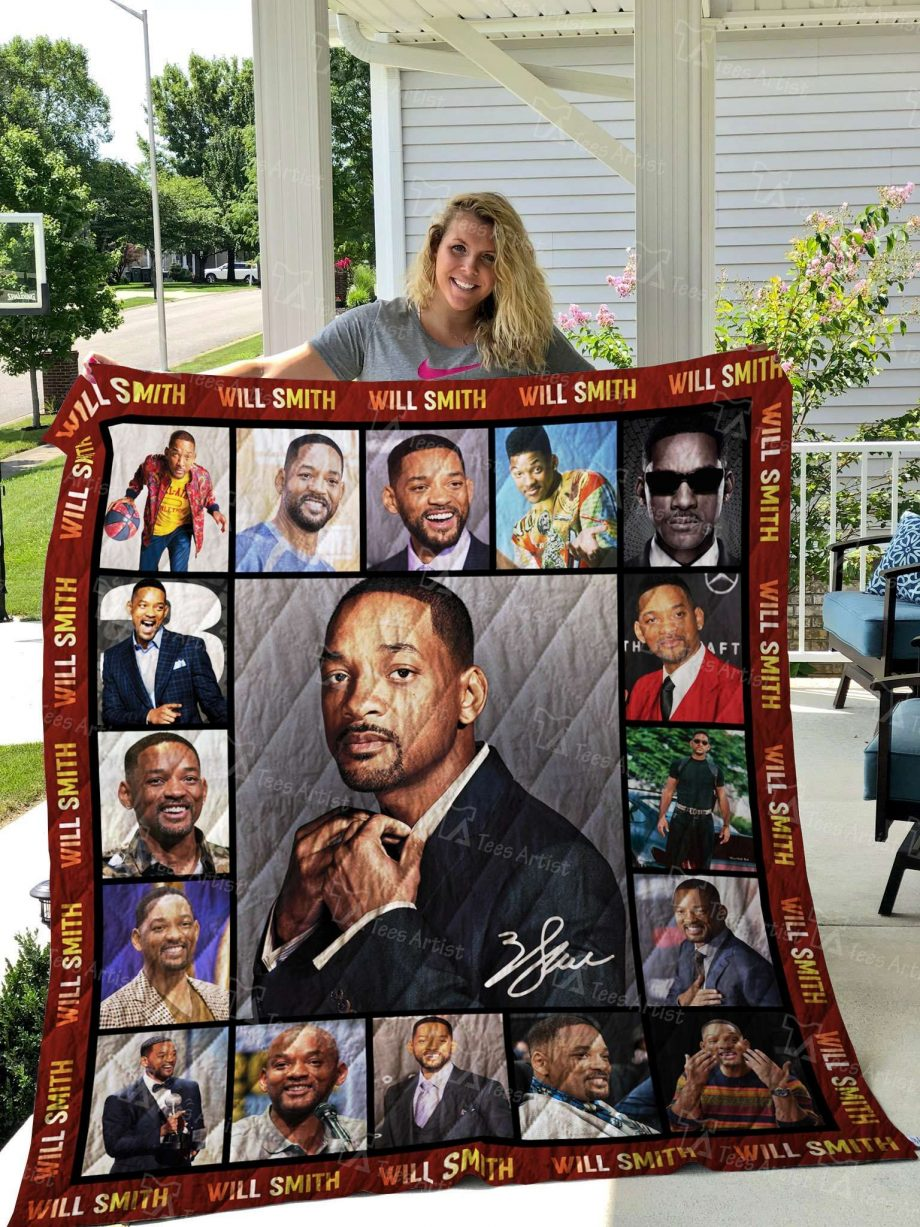 Will Smith Quilt Blanket 02554