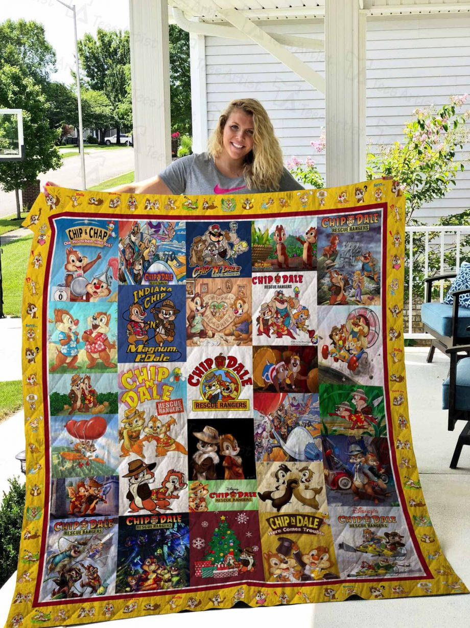 Chip and Dale Quilt Blanket 02559