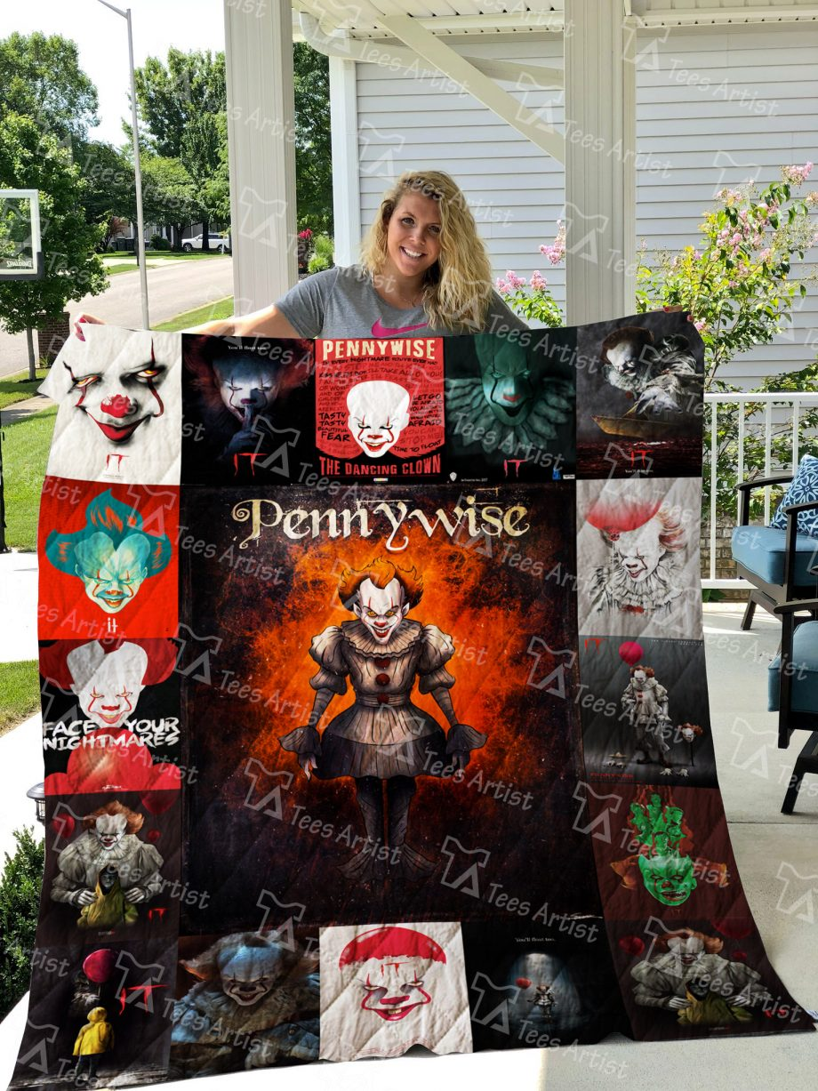 Pennywise IT Quilt Blanket 01257