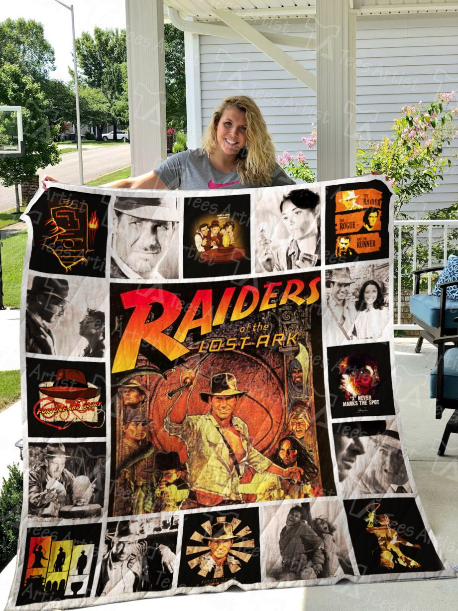 Raiders of the Lost Ark Quilt Blanket 0918