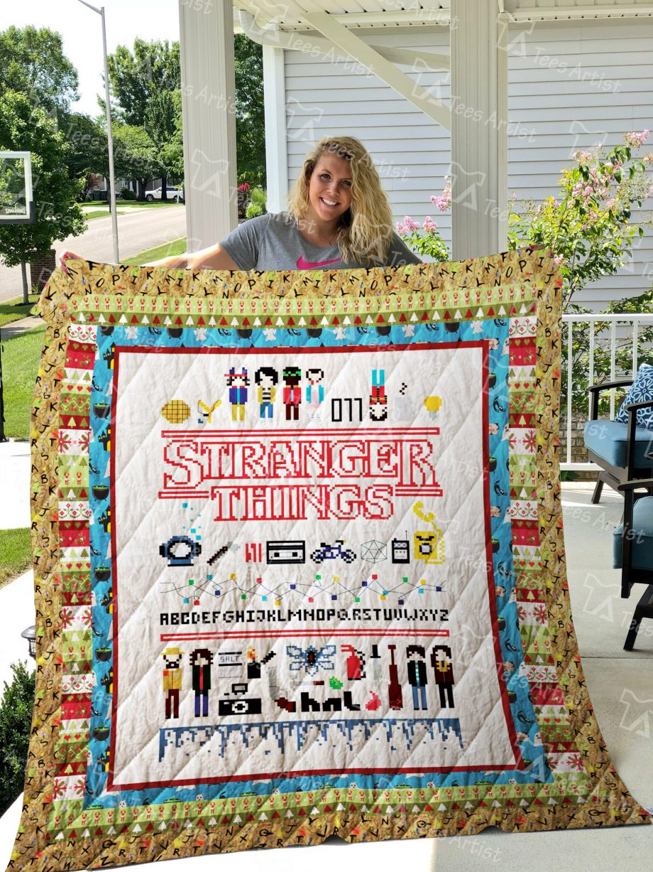 Stranger Things Quilt Blanket 01534