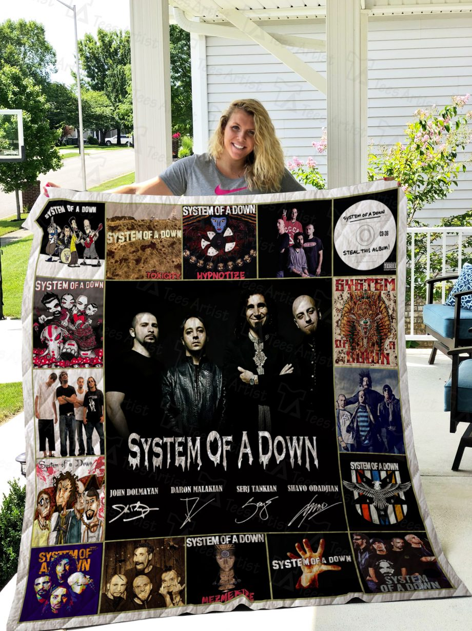 System Of A Down Quilt 02433