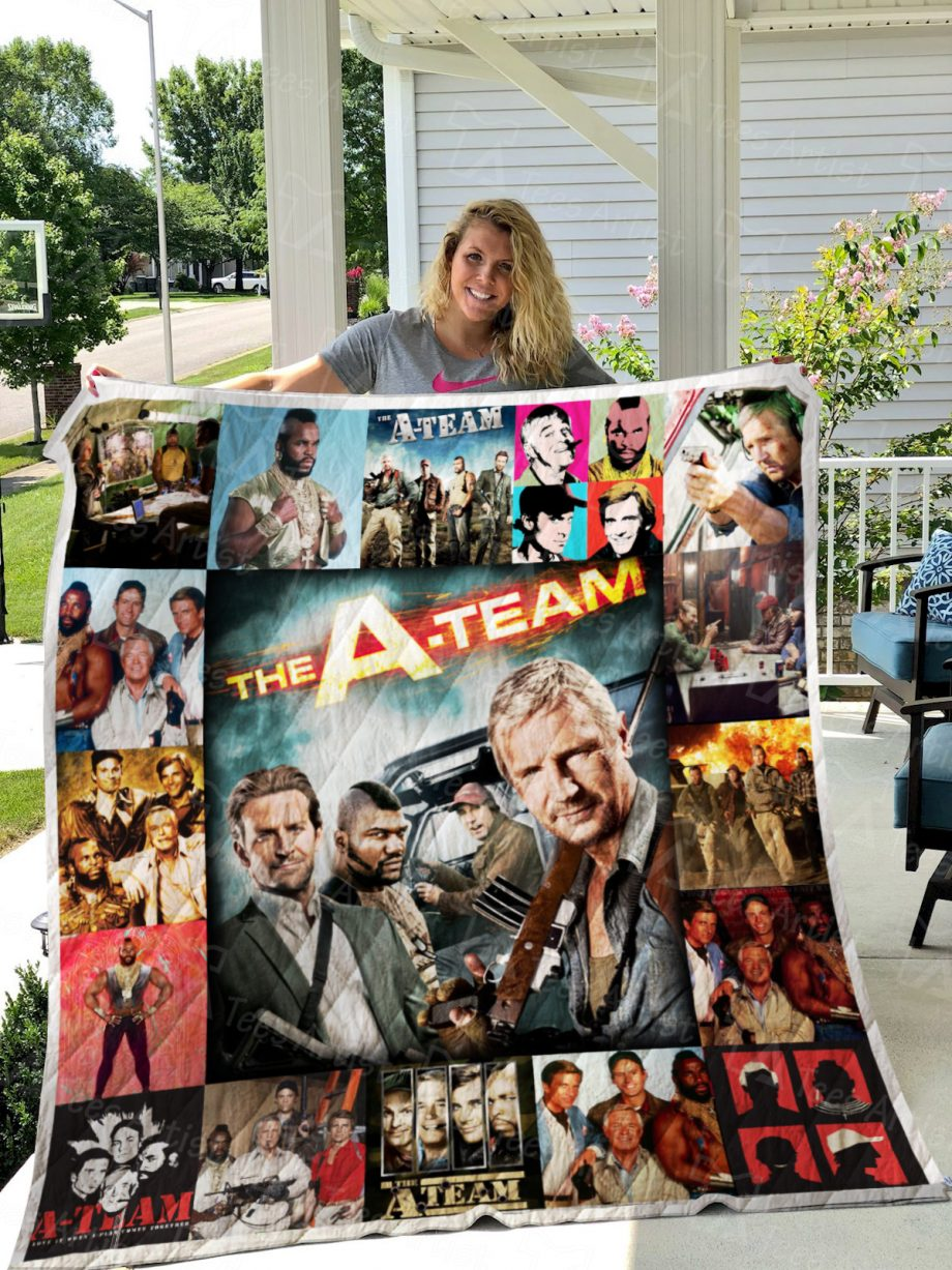The A Team Quilt Blanket 01070