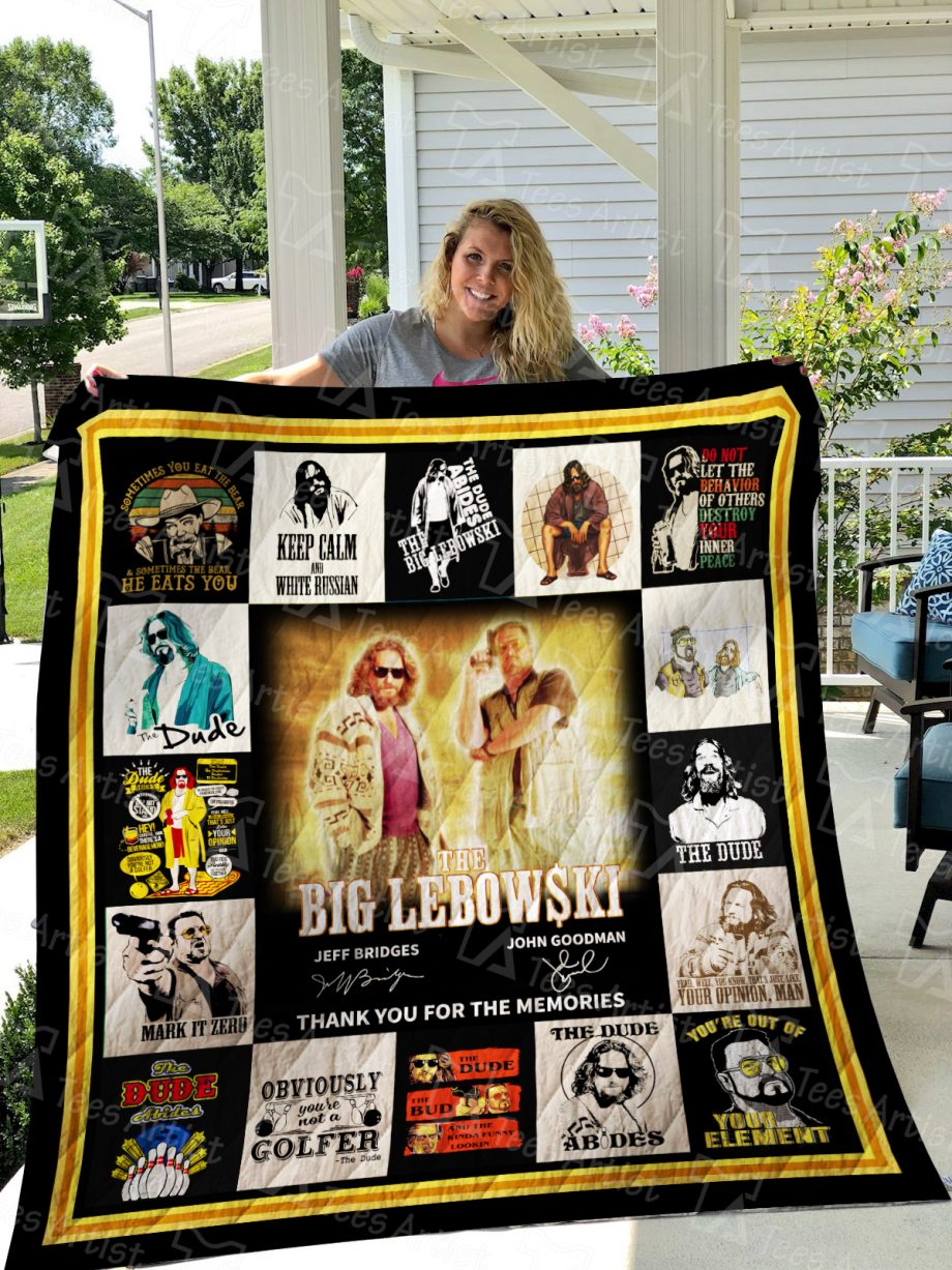 The Big Lebowski Quilt Blanket 01548