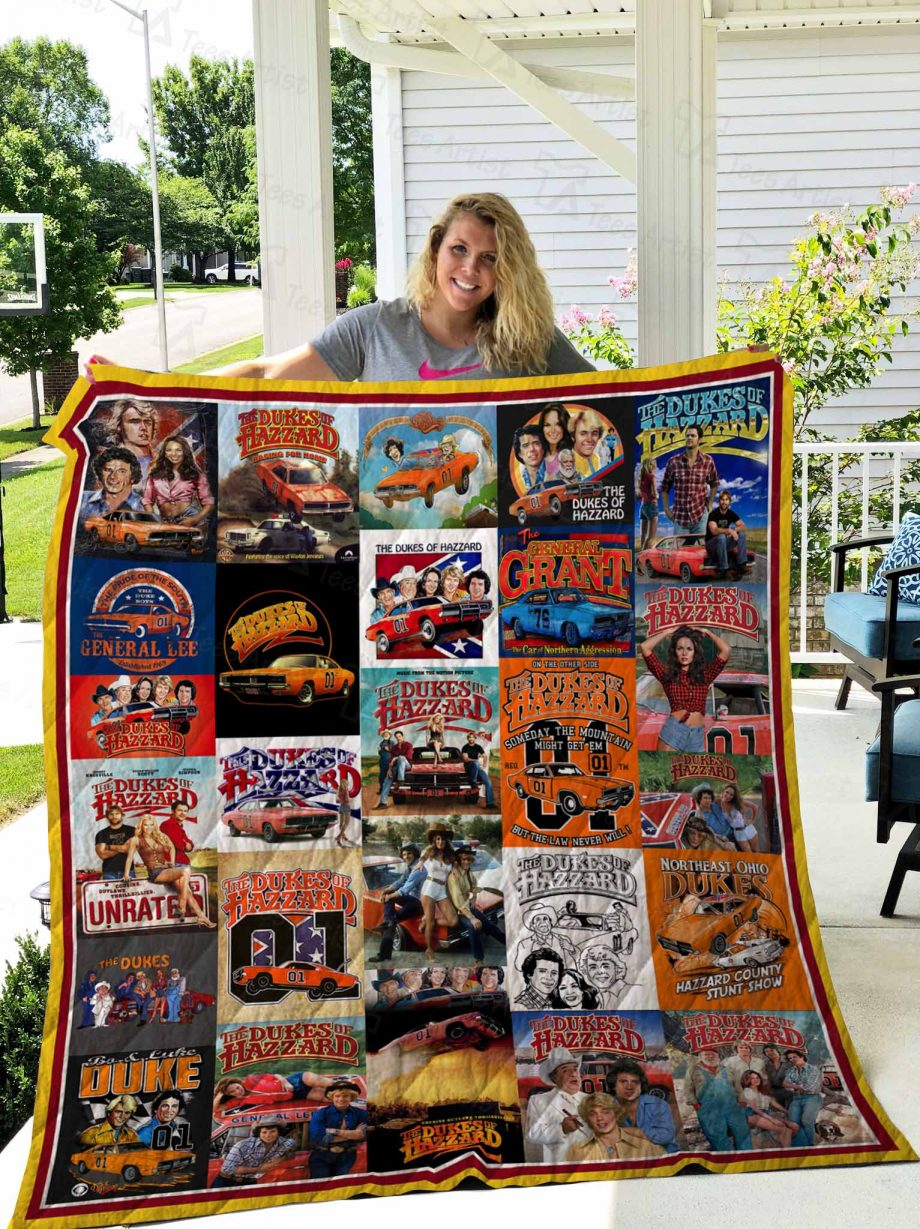 The Dukes Of Hazzard Quilt 02481