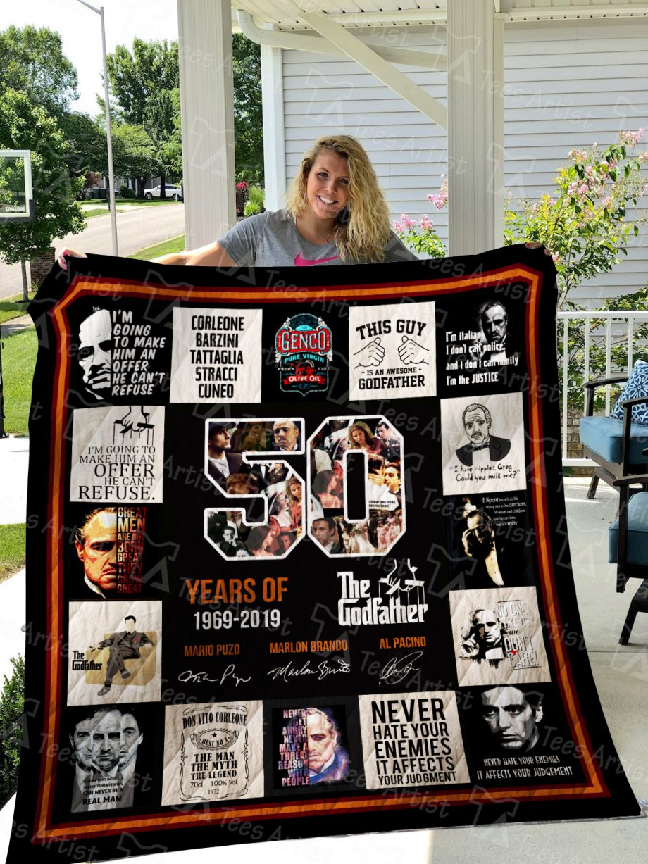 The Godfather Quilt Blanket 01554