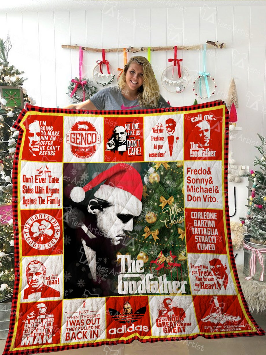 The Godfather Quilt Blanket 02185