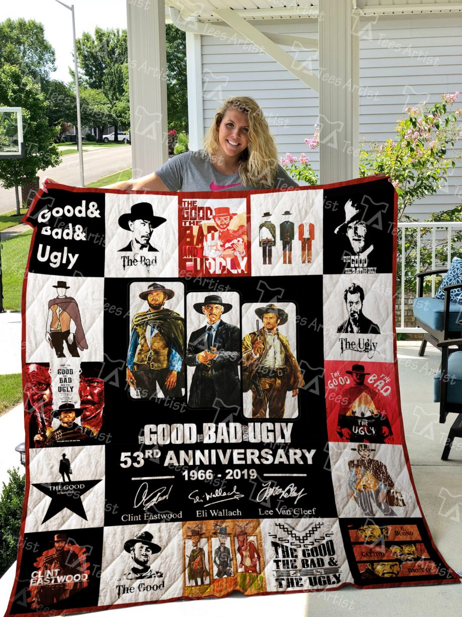 The Good, the Bad and the Ugly Quilt Blanket 01513