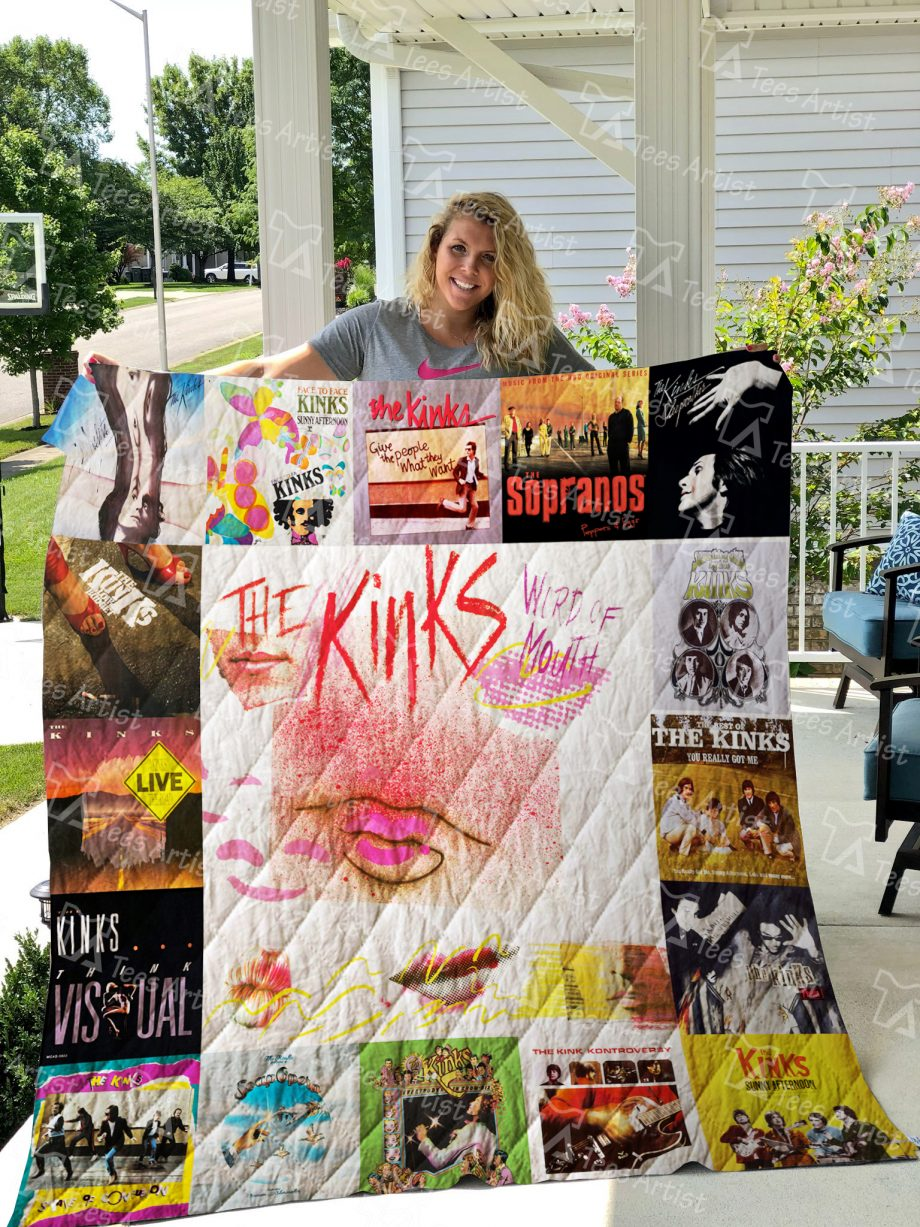 The Kinks Band Quilt Blanket 01269