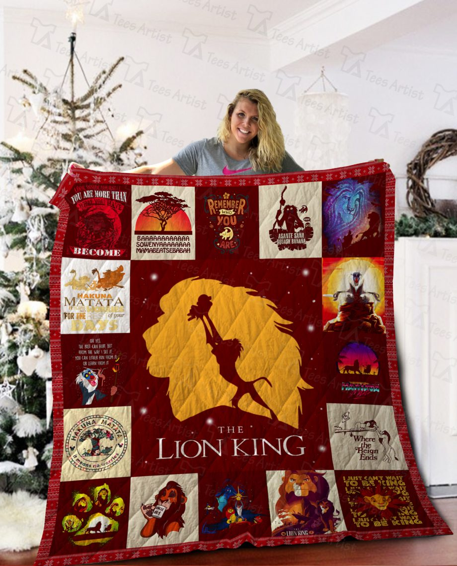 The Lion King Quilt Blanket 02189
