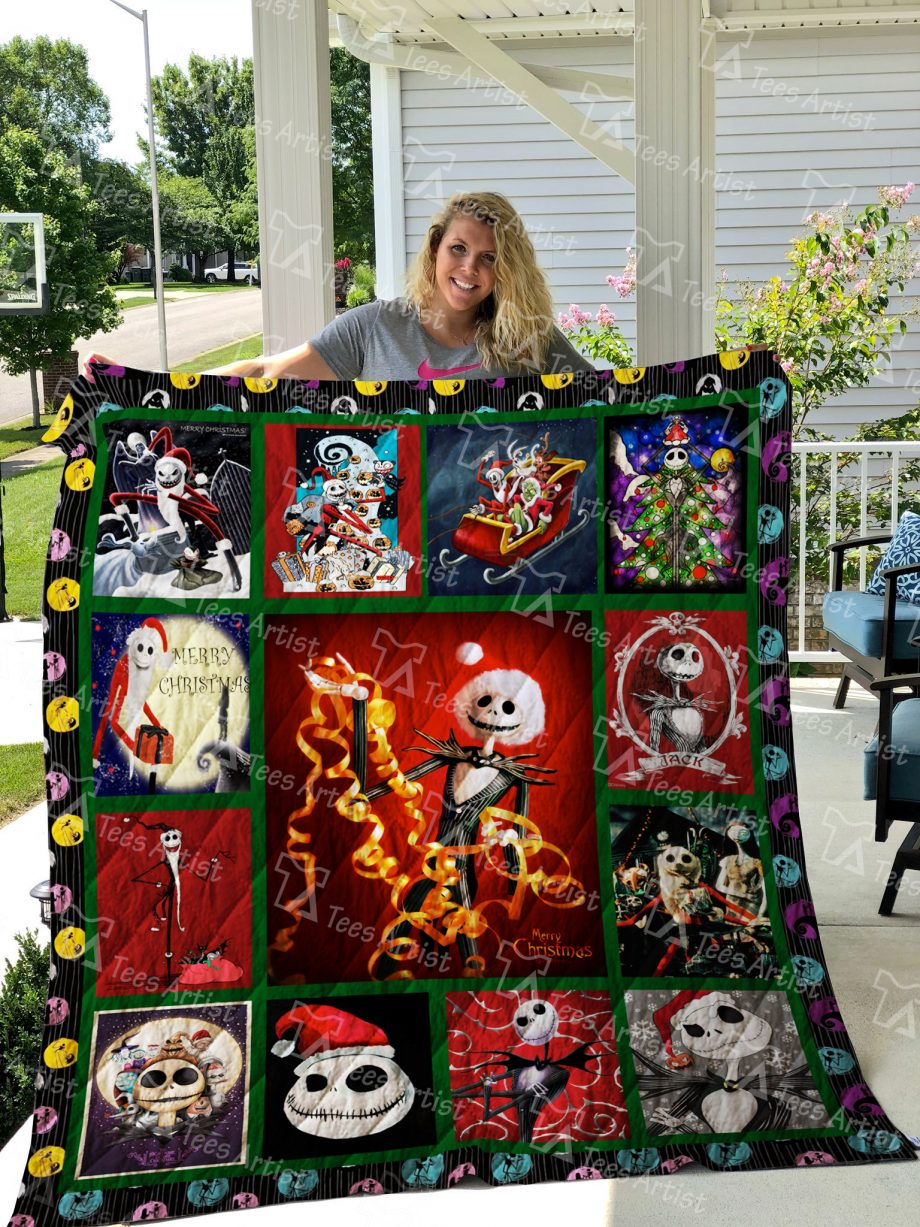 The Nightmare Before Christmas Quilt Blanket 01918