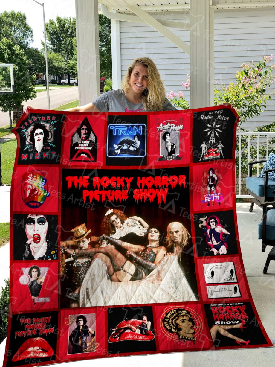 The Rocky Horror Picture Show Quilt Blanket 01305