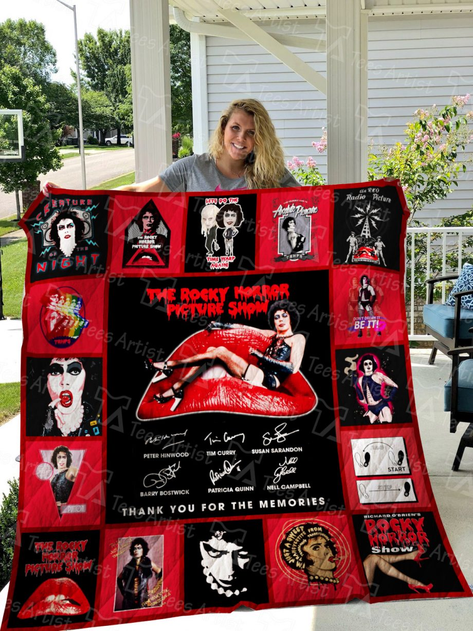 The Rocky Horror Picture Show Quilt Blanket 01624