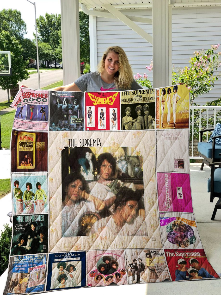The Supremes Quilt Blanket 01232