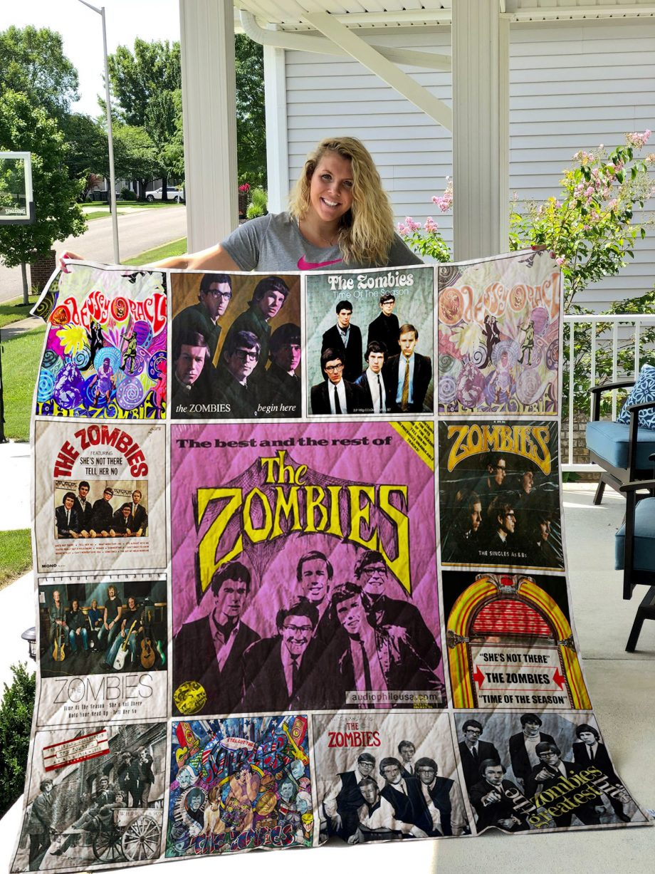 The Zombies Quilt Blanket 01439