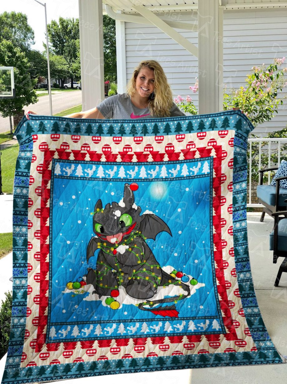 Toothless Quilt Blanket 01273