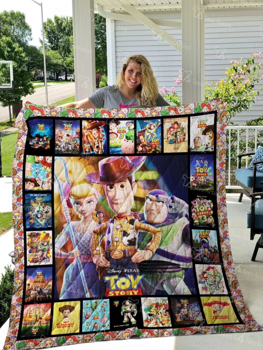 Toy Story Quilt Blanket 02758