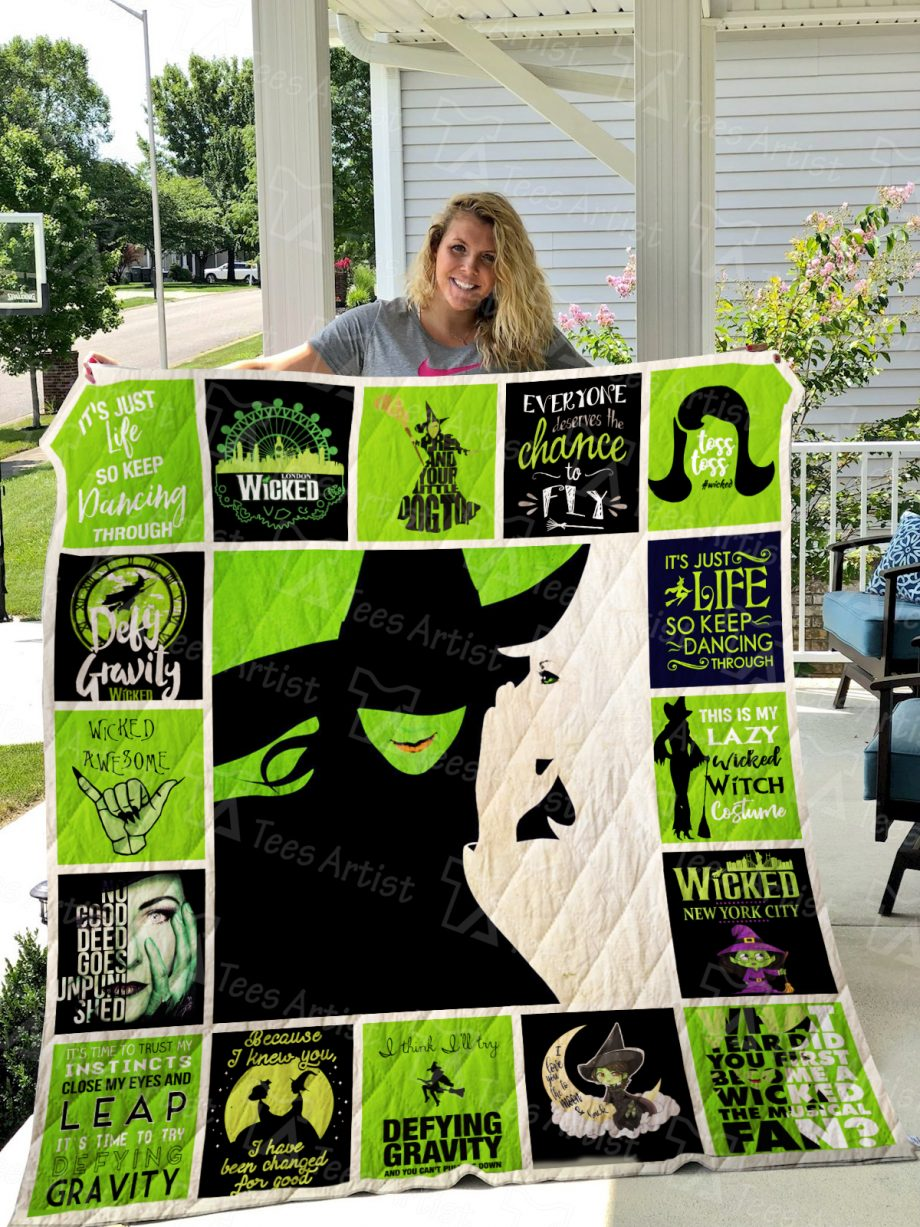 Wicked Quilt Blanket 0769