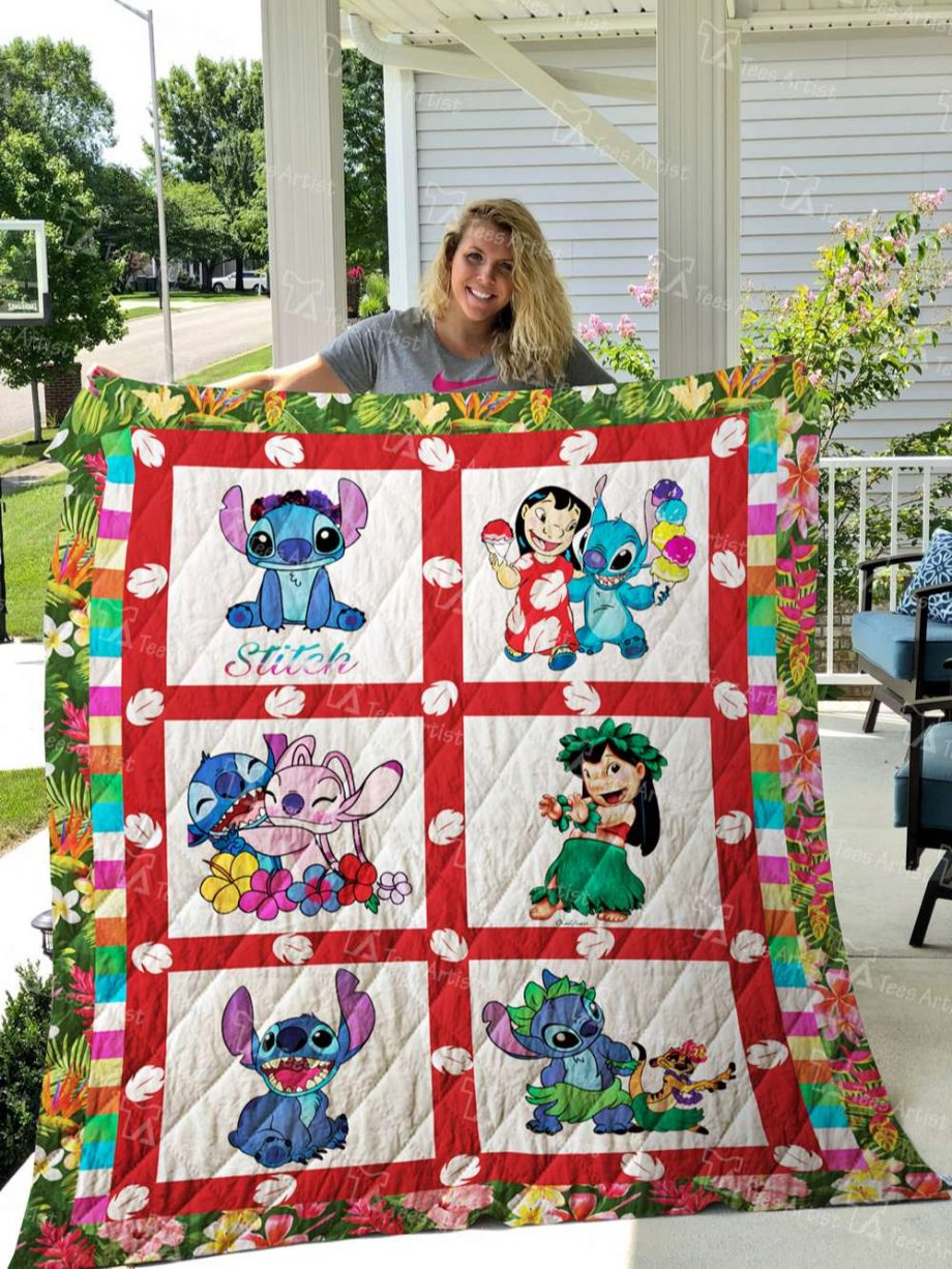 Lilo And Stitch Quilt Blanket 02746