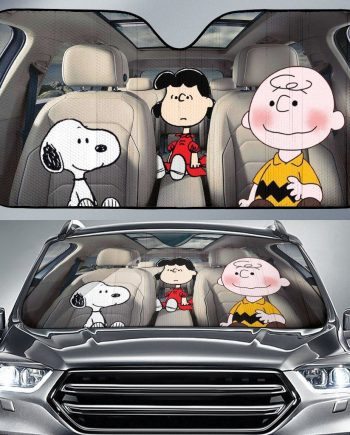 Snoopy Auto Sun Shade Car Sun Shade