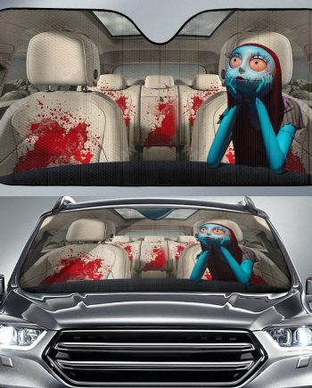 Halloween Nightmare Before Christmas Auto Sun Shade Car Sun Shade