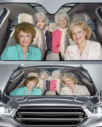 The Golden Girls Auto Sun Shade Car Sun Shade
