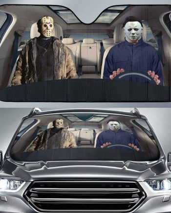 Horror Halloween Auto Sun Shade Car Sun Shade